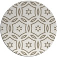 rug #927201 | round mid-brown damask rug