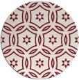 rug #927265   round pink damask rug