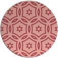 rug #927269 | round pink circles rug