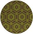 rug #927281 | round green circles rug