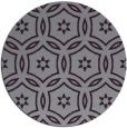 rug #927289 | round purple damask rug