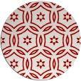 rug #927293 | round red circles rug