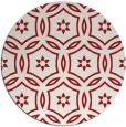 rug #927301 | round red circles rug