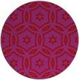 rug #927305 | round pink rug
