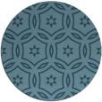 rug #927343 | round damask rug