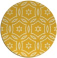 rug #927349 | round yellow circles rug