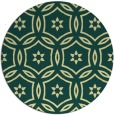 rug #927369 | round yellow damask rug