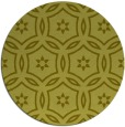 rug #927373 | round light-green circles rug