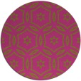 rug #927381 | round light-green circles rug