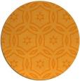 rug #927397 | round light-orange circles rug