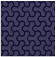 rug #927853 | square blue-violet retro rug
