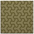 rug #928105 | square light-green retro rug