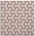 rug #928113   square pink retro rug