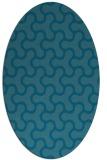 rug #928199 | oval retro rug