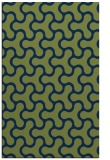 rug #928529    green retro rug