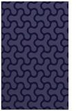 rug #928573    blue-violet retro rug