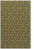 rug #928825 |  light-green retro rug