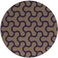 rug #928953 | round beige retro rug