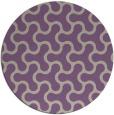 rug #929029 | round beige retro rug