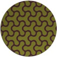 rug #929081 | round purple retro rug