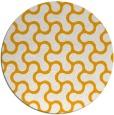 rug #929189 | round light-orange retro rug