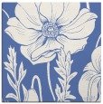rug #929613 | square blue graphic rug