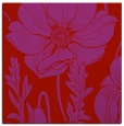 rug #929825 | square red graphic rug
