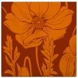 rug #929829   square red-orange graphic rug
