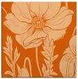 rug #929833 | square red-orange natural rug