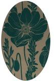 rug #930044 | oval graphic rug