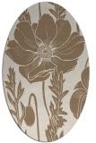 rug #930078 | oval natural rug