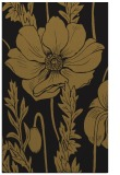 rug #930305    mid-brown graphic rug