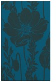 rug #930349 |  blue-green graphic rug