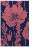 rug #930381 |  blue-violet graphic rug