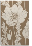 rug #930437 |  mid-brown graphic rug