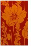 rug #930537 |  orange natural rug