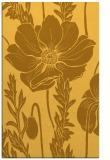 rug #930605 |  yellow graphic rug