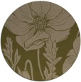 rug #930761 | round mid-brown natural rug