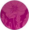 rug #930861 | round pink rug