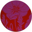 rug #930905 | round red graphic rug