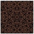 rug #933181 | square brown damask rug