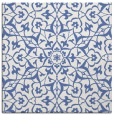 rug #933213 | square blue traditional rug