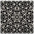 rug #933229 | square blue-green rug