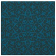 rug #933233 | square blue geometry rug
