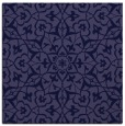 rug #933253 | square blue-violet geometry rug