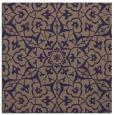 rug #933273 | square beige geometry rug