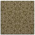 rug #933281   square brown damask rug