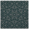 rug #933297 | square green traditional rug