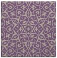 rug #933349   square purple geometry rug