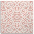 rug #933393 | square pink traditional rug